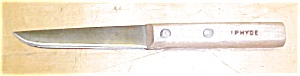 I.p. Hyde Wood Handled Knife