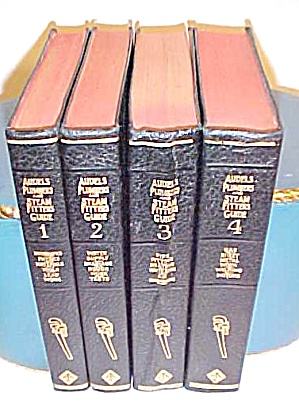 Audels Plumbers & Steam Fitters Guide Set 1948-50