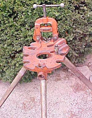 Nye Pipe Vise & Bending Stand No. 88