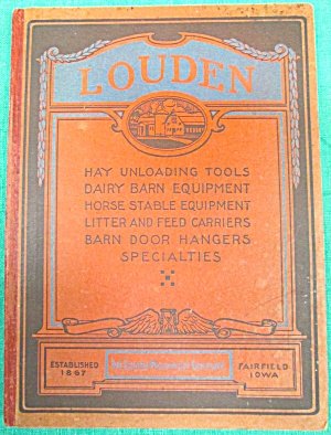 Louden Dairy Barn Door Stable Catalog 1919