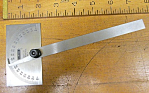 General Hardware Protractor No. 17 Stainless Steel
