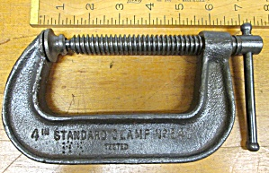 Cincinnati C-clamp No. 540 Antique 4 Inch