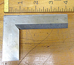 Spi Solid Square Beveled Edge 4 Inch Blade