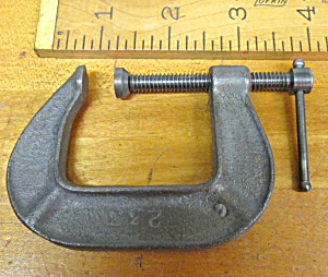 C-clamp Vintage 1.5 Inch No. 233