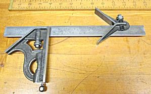 Starrett Combination Square 3 Pc. Set