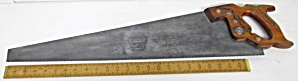 Disston D-23 Hand-saw 8 Tpi Finish Panel Saw 26 Inch