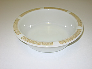 Anchor Hocking Placesetters Milk Glass Serving Bowl