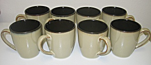 Pfaltzgraff Everyday Tahoe Cup Mug Set Of 8
