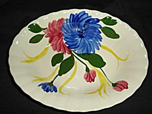 Blue Ridge Chrysanthemum Serving Bowl