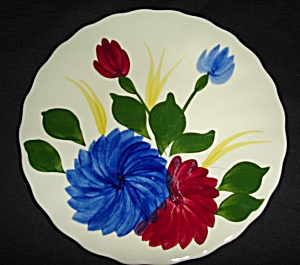 Blue Ridge Chrysanthemum Bread & Butter Plate