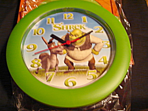 Walt Disney Shrek Wall Clock