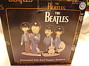 Beatles Animated Salt And Pepper Shakers