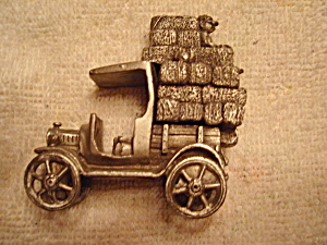 Boyd Perry Pewter Truck Figurine