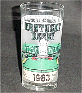 1983 Libbey Kentucky Derby Glass