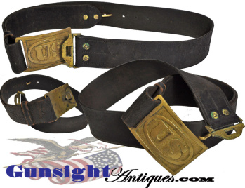 Indian War Vintage Pattern Of 1874 U. S. Waist Belt