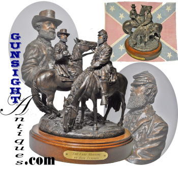 The Last Meeting Of Lee & Stonewall Jackson - A Bronze By Ron Tunison