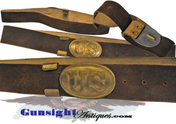 Unissued Condition - Pattern Of 1839 Enlisted U. S. Waist Belt