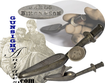 Antique - Pewter Medicine Spoon