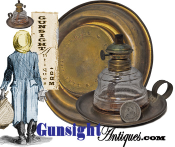 Patent 1873 Finger Lamp