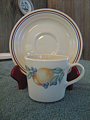 Corelle Abundance Cup And Saucer Set