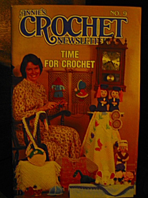 Annie's Crochet Newsletter No.9 May-june 1984