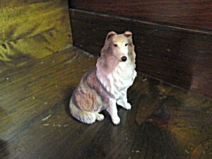 Summit Collection Collie Dog Stone Resin Figurine
