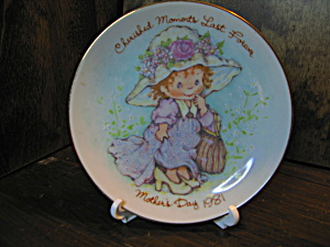 Avon Cherished Moments Mother's Day 1981 Plate