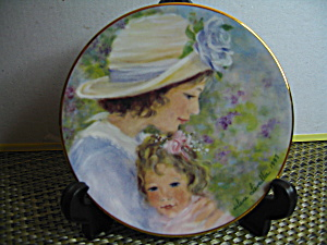 Avon Tender Moments Mother's Day 1997 Plate