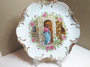 Vintage Midstate Plate Jesus Knocking At The Door