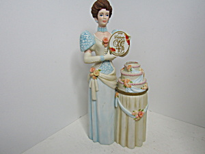 Avon President's Club 40th Anniversary Award Figurine.