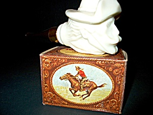 Avon Vintage Pony Express Rider Pipe With Box