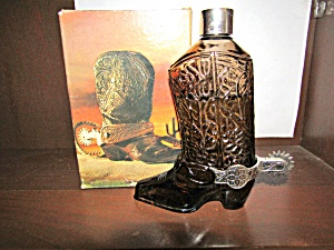 Avon Vintage Western Boot Wild Country After Shave