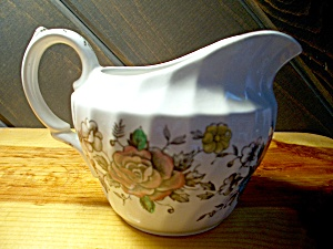 British Anchor Floral Bouquet Creamer
