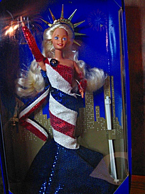 American Beauties Collection Statue Of Liberty Barbie