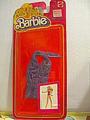 Vintage Barbie Best Buy Fashion #3642 Purple Jumpsuit