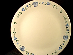 Corelle Blueberry Bouquet Dinner Plate