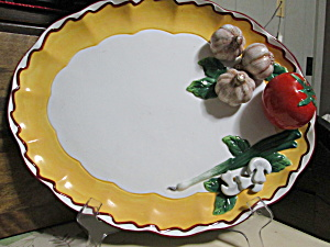 Bella Casa Decorative Vegetable Platter