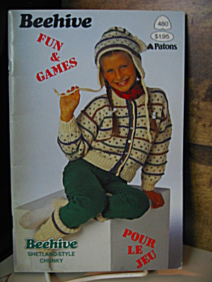Beehive Fun And Games Booklet #480