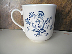 Corelle Blue Floral Coffee Cup
