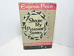 Vintage Religous Book Share My Pleasant Stones