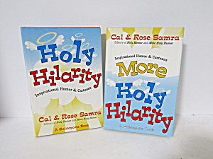 Vintage Book Set Holy Hilarity & More Holy Hilarity