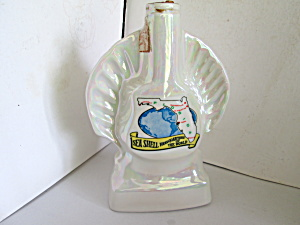 Vintage Sea Shell Headquarters Of The World Decanter