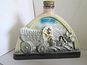 Vintage James Beam Decante Harolds Club