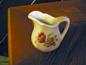 Mini Floral Cream Pitcher