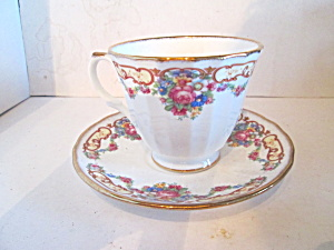 Springfield Floral Bone China Cup & Saucer Set