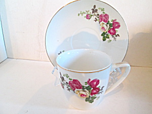 Made In China Bone China Cup & Saucer Set