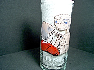 E.t.pizza Hut Collectible Glass Be Right Here