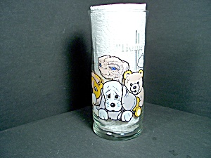 E.t. Pizza Hut Collectible Glass Home