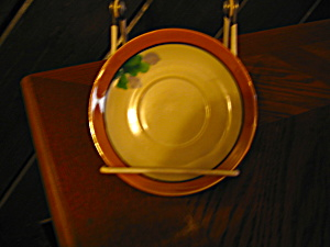 Lusterware Chickaramach Saucers