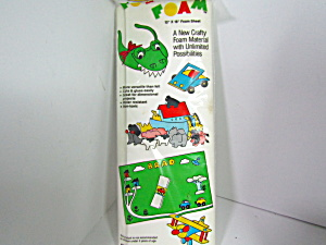 Vintage Westrim Craft Foam Sheet